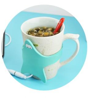 Starfish cup warmer