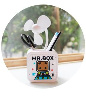 Mini box fan
