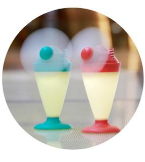 Ice cream led fan