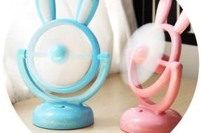 Rabbit mirror fan