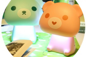 Mini bear led night light