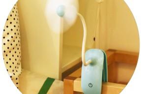 Mini clip rechargeable fan