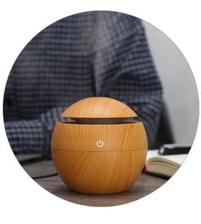 130ML Wooden essential oil diffuser