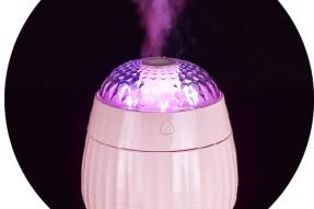 Aromatherapy nebulizer Decorative USB mini Ultrasonic Cool Mist Humidifier with projector LED