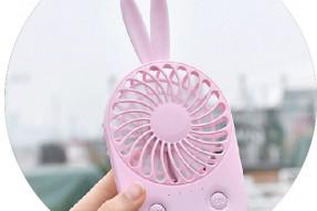 Rechargeable Mini Rabbit Fan
