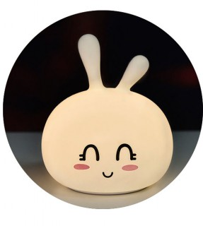 CuteBunnySilicone Light (rechargeable)