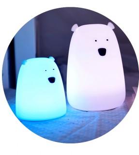 little bear  Silicone Light (AAA battery type)