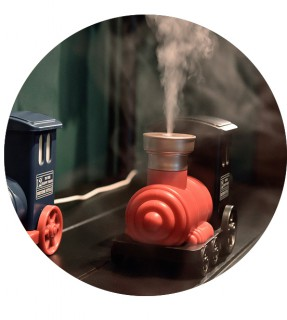 Desktop usb ultrasonic mist maker fogger humidifier for kids