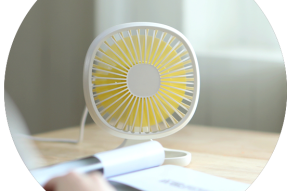 Electric Promotion Power Cold Air Cool Table Fan-Mini