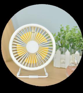 Summer Cool Table USB Metal Fan