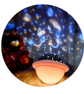 Starry Sky UFO Projection Lamp