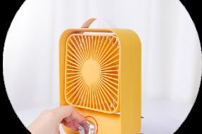 Ventilation Portable Fan Mini Rechargeable Desktop Speed Control Usb