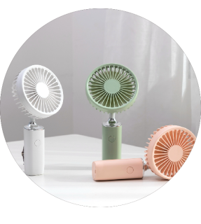 Hand Held Battery Operated Rechargeable Summer Mini Fan Usb Portable