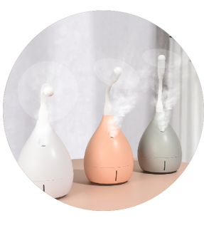USB Air Humidifier Revitalizer Travel Desk Mist Powerful Ultrasonic Humidifier