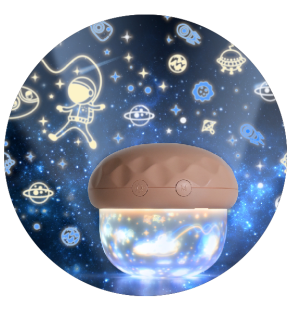Star Sky Ocean Wave Baby Night Light Projector Lamp For Kids