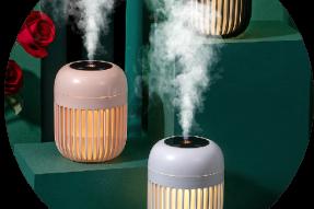 2021 600ML portable essential small oils aromatherapy diffuser mini mist ultrasonic humidificador humidifiers