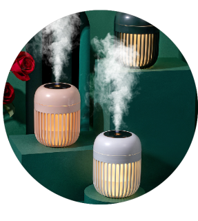 2021 600ML portable essential small oils aromatherapy diffuser mini mist ultrasonic humidificador humidifiers