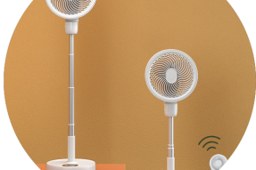 New Design Remote Control Portable USB Standing Rechargeable Electric Stand Fan With Remote