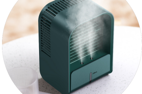 New Design Room Humidifier Cooler Rechargeable Fan Portable Mist Air Cooler Mini Fans for Room