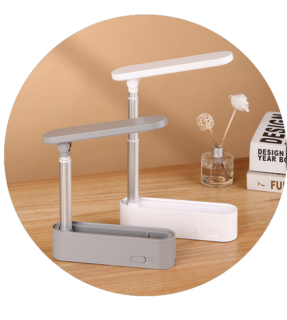 Emergency chargeable light led table lamp for bedroom
